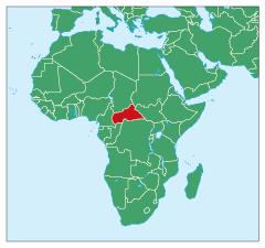 中央アフリカ | 世界の国・地域のデータ | 情報・知識&オピニオン ...
